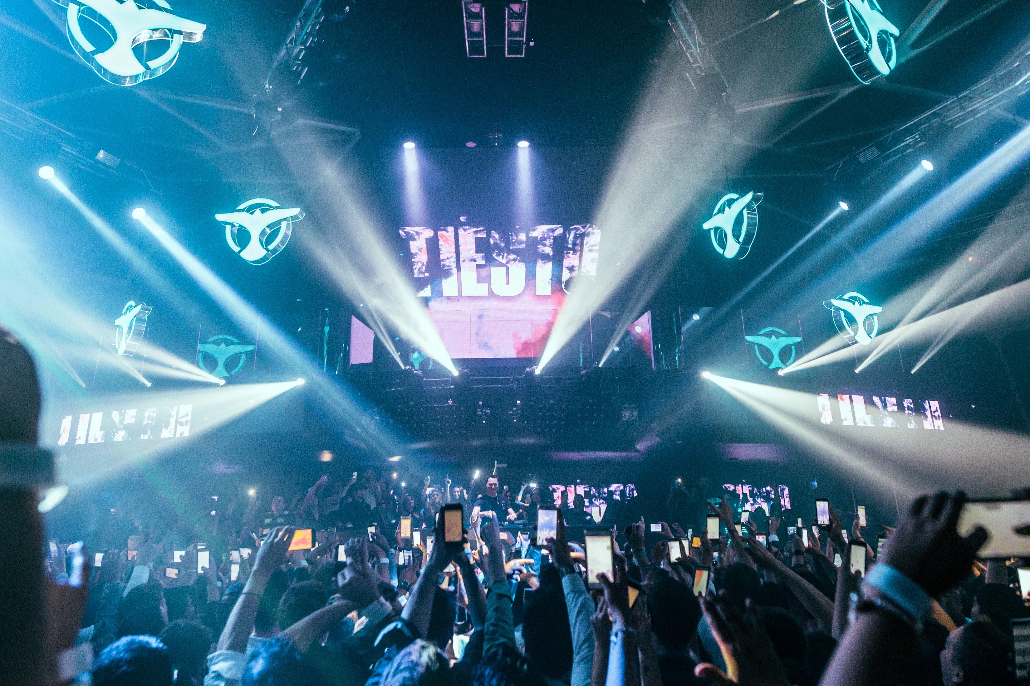 Tiësto at Hakkasan Nightclub Las Vegas